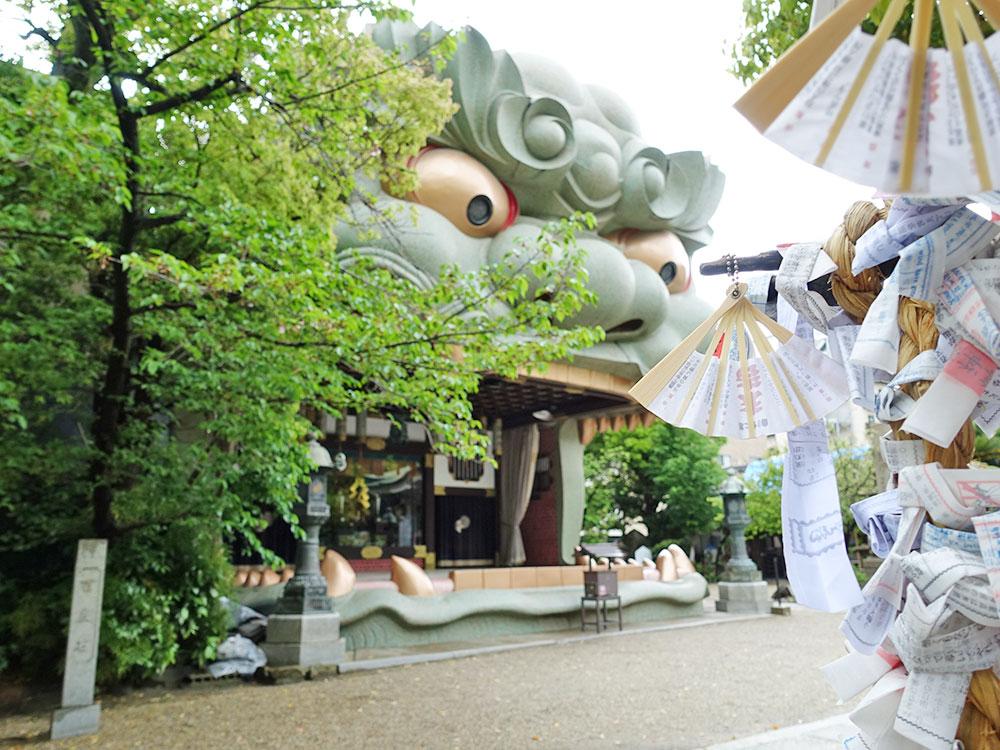 大阪八坂神社 獅子-12