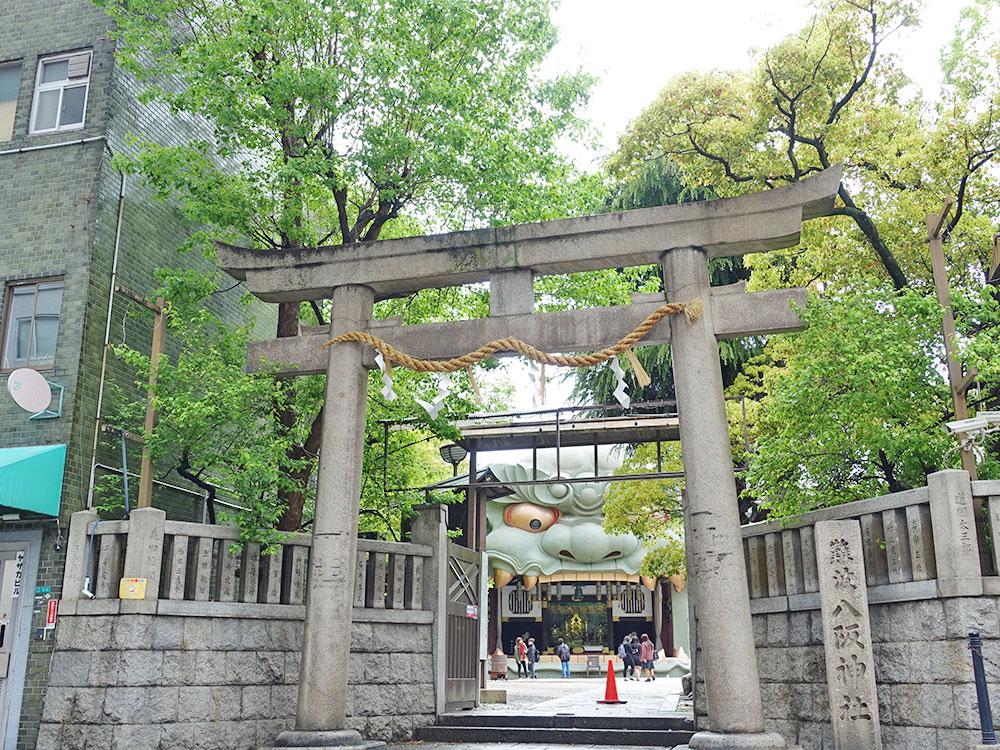 大阪八坂神社 獅子-13