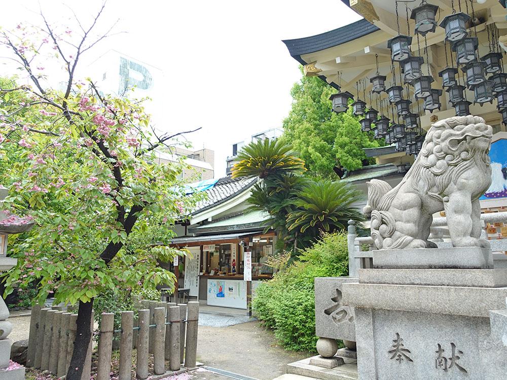 大阪八坂神社 獅子-14